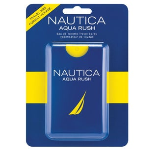Aqua Rush Nautica Men's 0.67-ounce Eau de Toilette Travel Spray