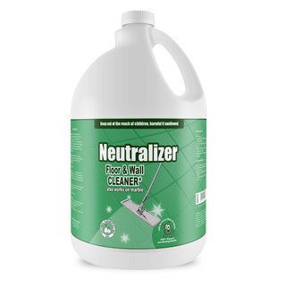 Neutralizer - Streak Free All Purpose Floor Cleaner & Degreaser - Non Toxic Multi Surface Cleaner, 1 Gallon