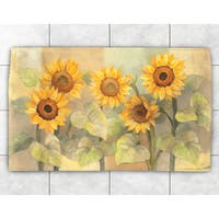 Sunflowers Accent Rug