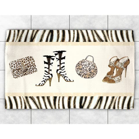 Animal Print Couture Accent Rug