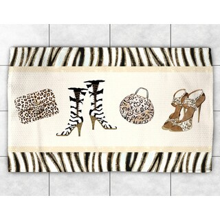 Animal Print Couture Accent Rug (2' x 3')