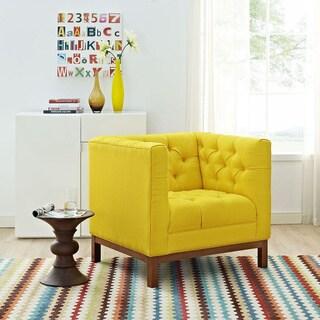 Panache Mid Century Fabric Armchair