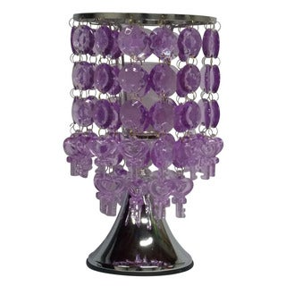 Hanging Crystal Pendant Oil Warmer with Touch Power Adjuster