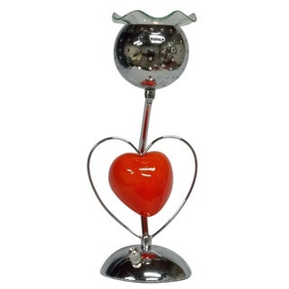 Heart Shaped Oil Warmer with Touch Power Adjuster