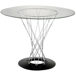 Cyclone Dining Table Table Isamu Noguchi Style 39 inch Tempered