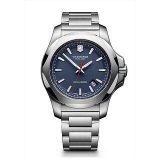 Victorinox Swiss Army 241724.1 Men's I.N.O.X. Stainless Steel Bracelet Watch