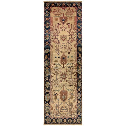 Safavieh One of a Kind Collection Hand-Knotted Peshawar Wool Runner (2'6 x 10') - Multi - 0