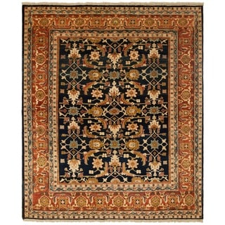 Safavieh One of a Kind Collection Hand-Knotted Peshawar Wool Rug (8' x 9'7)