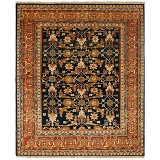 Safavieh One of a Kind Collection Hand-Knotted Peshawar Wool Rug (8' x 9'7) - Multi - 0