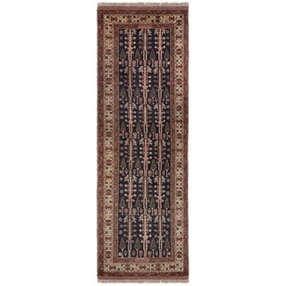 Safavieh One of a Kind Collection Hand-Knotted Peshawar Runner Wool Rug (2' 6 x 10')