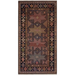 Safavieh One of a Kind Collection Hand-Knotted Kazak Wool Rug (5' x 8')