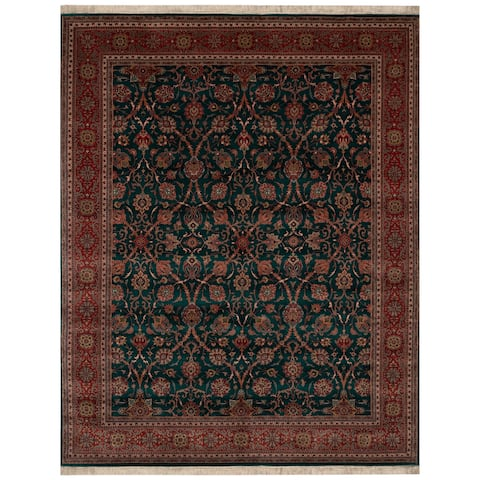 Safavieh One of a Kind Collection Hand-Knotted Indo Semnan Wool Rug (8' x 10') - Multi - 0