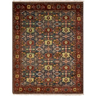 Safavieh One of a Kind Collection Hand-Knotted Peshawar Wool Rug (9' x 11'7)