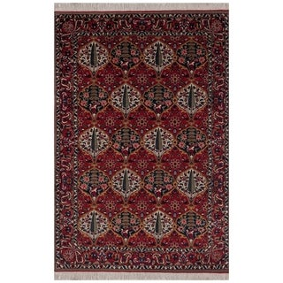 Safavieh One of a Kind Collection Hand-Knotted Bakhtiari Wool Rug (5'8 x 8'1)