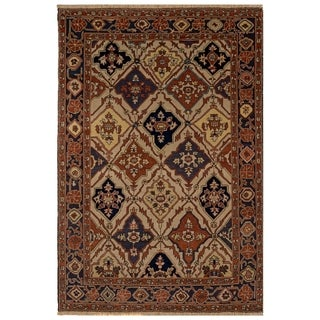 Safavieh One of a Kind Collection Hand-Knotted Turkistan Wool Rug (6' x 9')