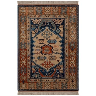 Safavieh One of a Kind Collection Hand-Knotted Azary Wool Rug (4'8 x 5'5)