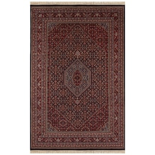 Safavieh One of a Kind Collection Hand-Knotted Indo Bidjar Wool Rug (6' x 9')