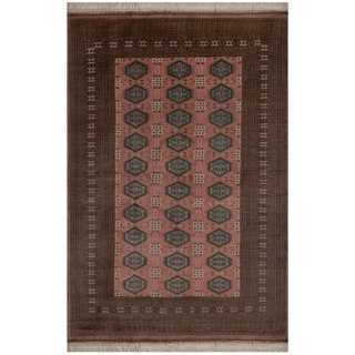 Safavieh One of a Kind Collection Hand-Knotted Bokhara Wool Rug (6'1 x 9')