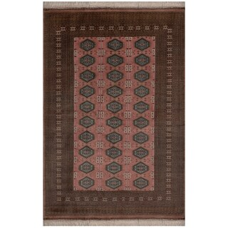 Safavieh One of a Kind Collection Hand-Knotted Bokhara Wool Rug (6'1 x 9') - Multi