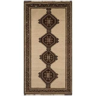Safavieh One of a Kind Collection Hand-Knotted Persian Ghashgai Wool Rug (4'7 x 8'6)
