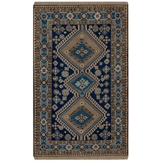 Safavieh One of a Kind Collection Hand-Knotted Persian Yalameh Wool Rug (3' x 3'5)