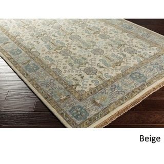 Hand-Knotted Amita Wool Rug (2'6 x 8')