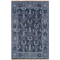 Hand-Knotted Anger Wool Area Rug (2' x 3')