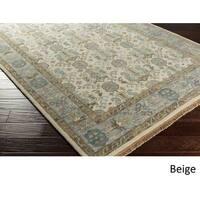 Hand-Knotted Amita Wool Area Rug - 5'6 x 8'6'