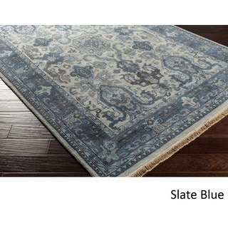 Hand-Knotted Almeria Wool Rug (5'6 x 8'6)