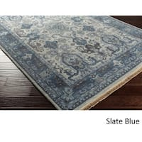 "Hand-Knotted Almeria Wool Area Rug - 3'9"" x 5'9"""