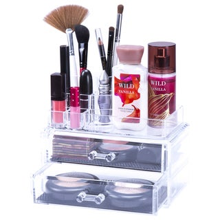Lavish Home Jewelry & Cosmetic Organizer 2-piece Set