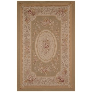Safavieh One of a Kind Collection Hand-Woven Aubusson Wool Rug (6' x 9')