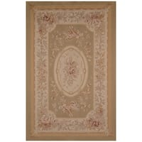 Safavieh One of a Kind Collection Hand-Woven Aubusson Wool Rug - 6' x 9'