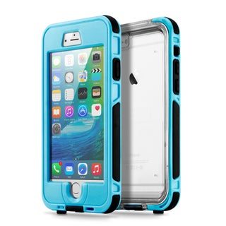 Gearonic Waterproof Shockproof Durable Case Cover for iPhone 6 Plus/iphone 6S Plus (Option: Light Blue)