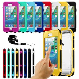 Gearonic Waterproof Shockproof Durable Case Cover for iPhone 6 Plus/iphone 6S Plus|https://ak1.ostkcdn.com/images/products/10948477/P17975338.jpg?impolicy=medium