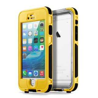 Gearonic Waterproof Shockproof Snow Proof Case Cover for iPhone 6 6S (Option: Yellow)