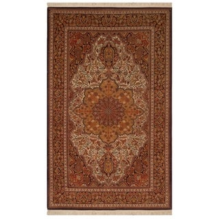 Safavieh One of a Kind Collection Hand-Knotted Egyptian Wool Rug (4' x 6') - Multi - 0