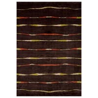 Safavieh One of a Kind Collection Hand-Knotted Tibetan Wool Rug (6' x 9') - Multi