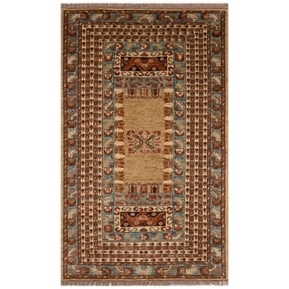 Safavieh One of a Kind Collection Hand-Knotted Armenian Wool Rug (4'11 x 7'9)