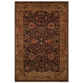 Safavieh One of a Kind Collection Hand-Knotted Mughal Violet/ Multi Wool Rug (6'2 x 9'3)