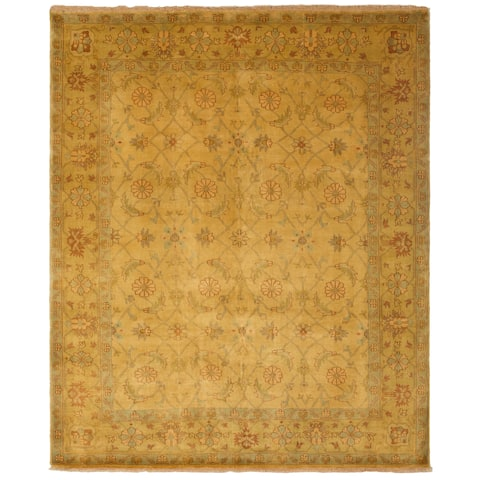 Safavieh One of a Kind Collection Hand-Knotted Oushak Wool Rug (8'3 x 9'10) - Multi - 0