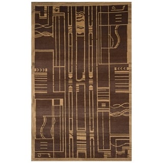 Safavieh One of a Kind Collection Hand-Knotted Tibetan Wool Rug (5'6 x 8')