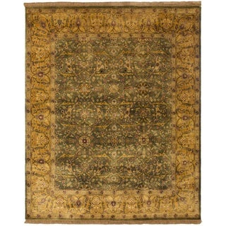 Safavieh One of a Kind Collection Hand-Knotted Indo Persian Wool Rug (8'2 x 9'11)