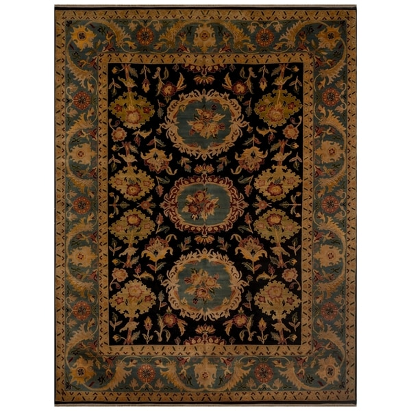 Safavieh One of a Kind Collection Hand-Knotted Bakhtiar Wool Rug (9'1 x 11'9) - 0