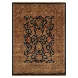 Safavieh One of a Kind Collection Hand-Knotted Golden Jaipur Wool Rug (8' x 10')