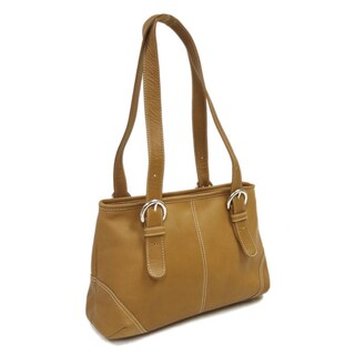 Piel Leather Medium Buckle Handbag