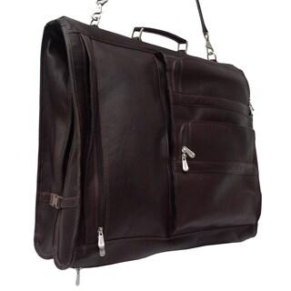 Piel Leather Executive Expandable 5-suit Garment Bag (3 options available)