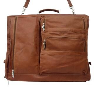 Piel Leather Executive Expandable 5-suit Garment Bag