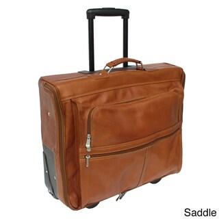 Piel Leather 4-Suit Rolling Garment Bag