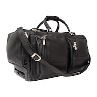9aaa8d6ae0 Shop Piel Leather 20-inch Classic Weekend Carry-On Duffel Bag - Free ...
